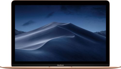 "Apple - MacBook 12"" Retina Display - Intel Core m3 - 8GB Memory - 256GB Flash Storage (Latest Model) - Gold"