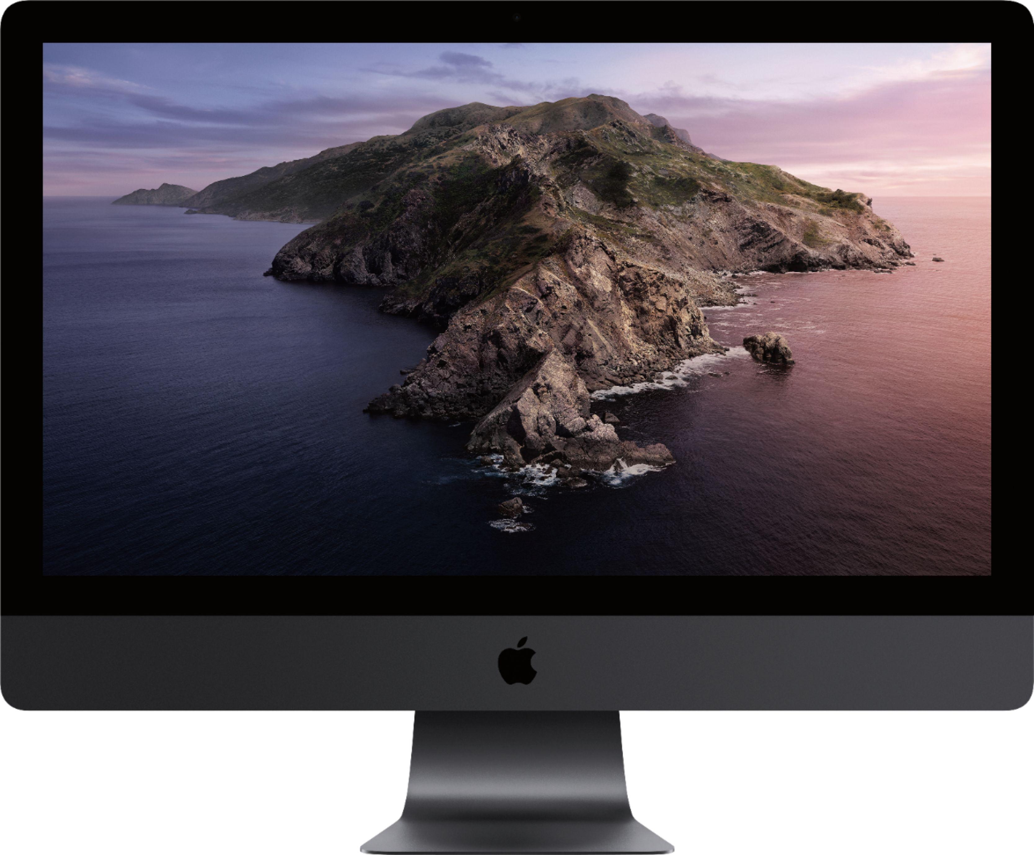 "Apple 27"" iMac Pro with Retina 5K display Intel Xeon W 32GB Memory 1TB Solid State Drive Black MQ2Y2LL/A"