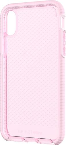 Tech21 - Evo Check Case for Apple® iPhone® X and XS - White/rose