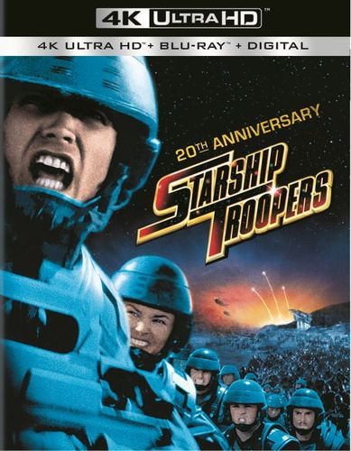Starship Troopers [20th Anniversarty Ed.] [With Digital Copy] [UltraViolet] [4K Ultra HD Blu-ray] [1997] 6005602