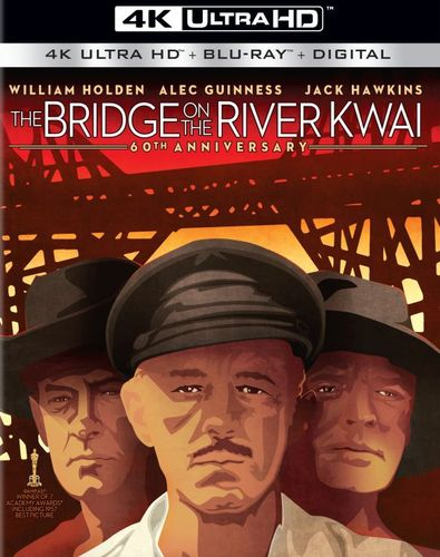 The Bridge on the River Kwai [Includes Digital Copy] [UltraViolet] [4K Ultra HD Blu-ray] [1957] 6005604