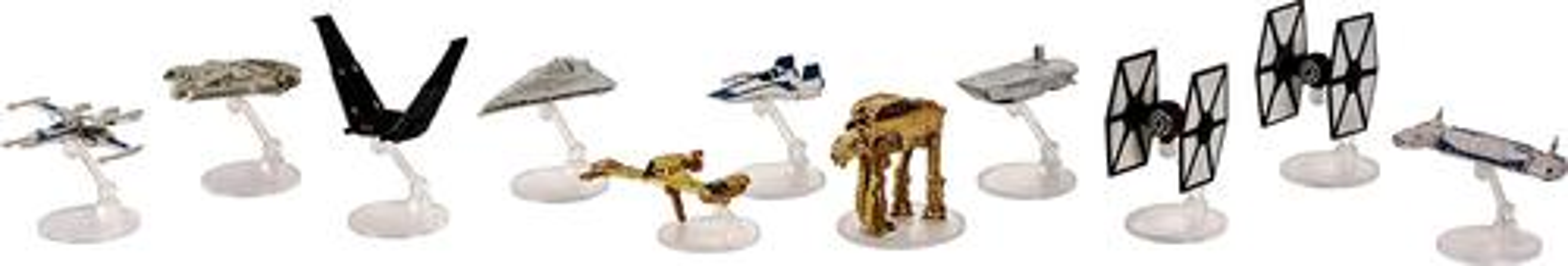 Mattel - Hot Wheels® Star Wars: The Last Jedi Starships (11-Pack) - Styles May Vary 6020907