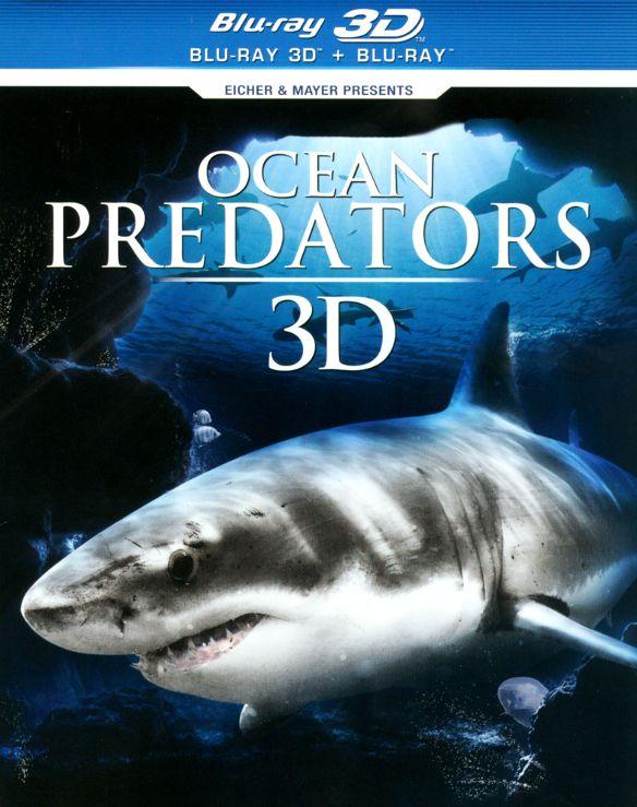 Ocean Predators 3D [3D] [Blu-ray] [Blu-ray/Blu-ray 3D] [2013] 6022125