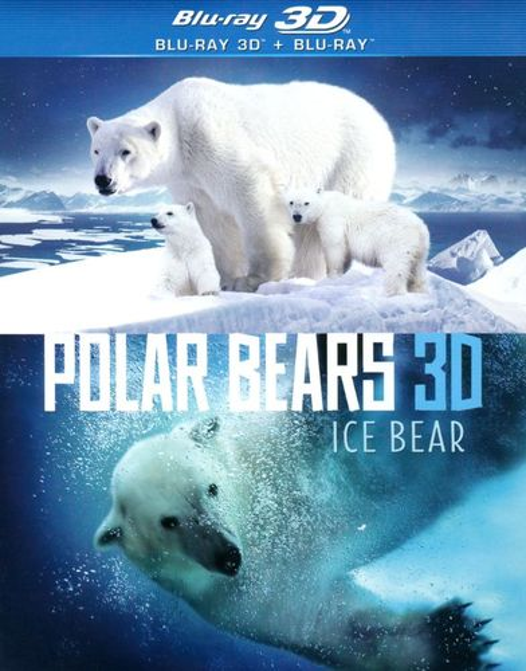 Polar Bears 3D: Ice Bear [3D] [Blu-ray] [Blu-ray/Blu-ray 3D] [2013] 6024265