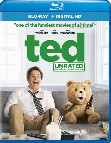 Ted [Includes Digital Copy] [UltraViolet] [With Movie Cash] [Blu-ray] [2012] 6024342