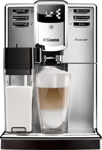 Saeco - Incanto Espresso Maker/Coffeemaker - Stainless steel/black 6026127