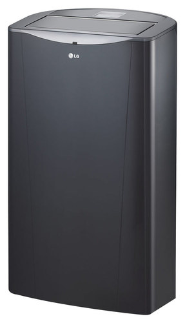 LG - 14,000 BTU Portable Air Conditioner - Silver