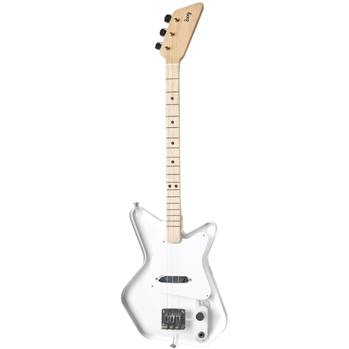 Loog - Pro 3-String Electric Guitar - Lucite 6027905