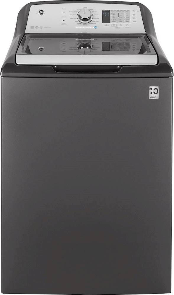 GE 4.5 Cu. Ft. 14-Cycle Top-Loading Washer Diamond gray GTW685BPLDG