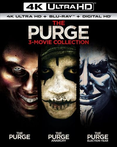 Purge: 3-Movie Collection [Includes Digital Copy] [UltraViolet] [4K Ultra HD Blu-ray] 6035200