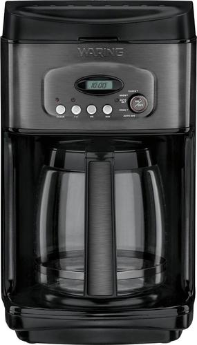 Waring Pro - 14-Cup Coffeemaker - Black stainless steel 6036716