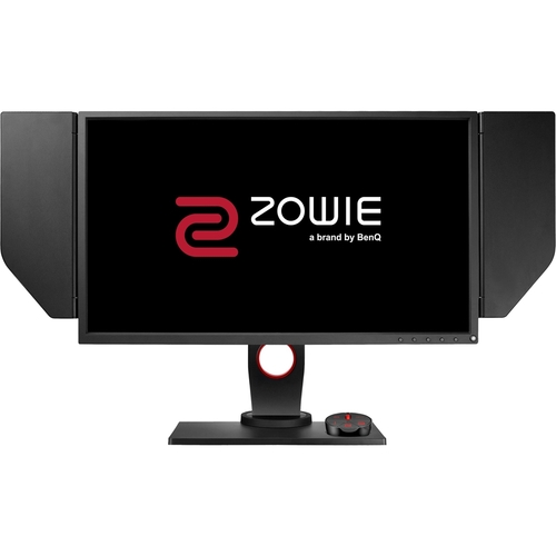 BenQ - XL Series XL2536 24.5  LED FHD Monitor - Dark gray 1920 x 1080 resolution (Full HD)1 ms response time144 Hz refresh rateDVI-D, DisplayPort & 2 HDMI inputs170° horizontal and 160° vertical viewing angles