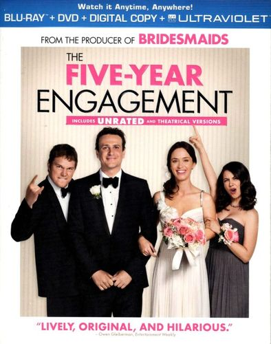 The Five-Year Engagement [2 Discs] [Includes Digital Copy] [UltraViolet] [Blu-ray/DVD] [2012] 6038787