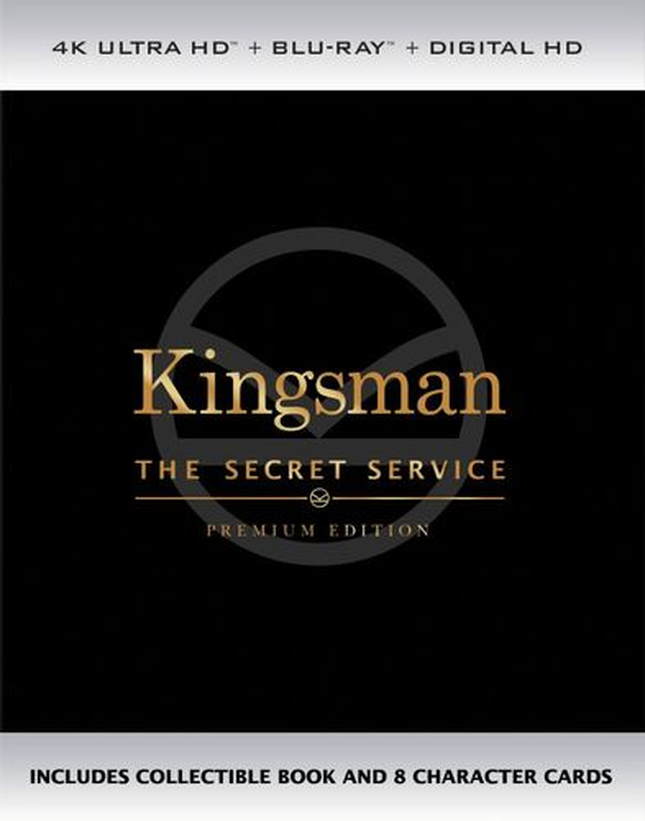 Kingsman: The Secret Service [4K Ultra HD Blu-ray] [2015] 6039300