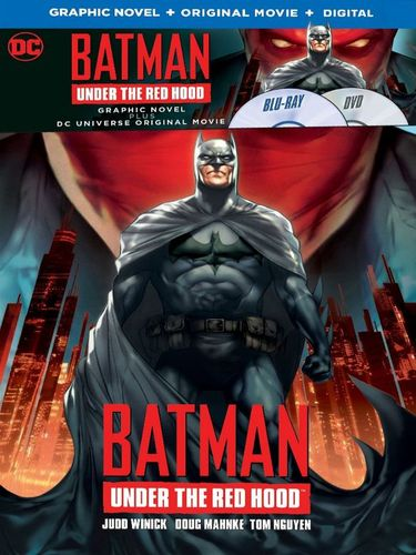 Batman: Under the Red Hood [Includes Graphic Novel] [Blu-ray] [2010] 6039310