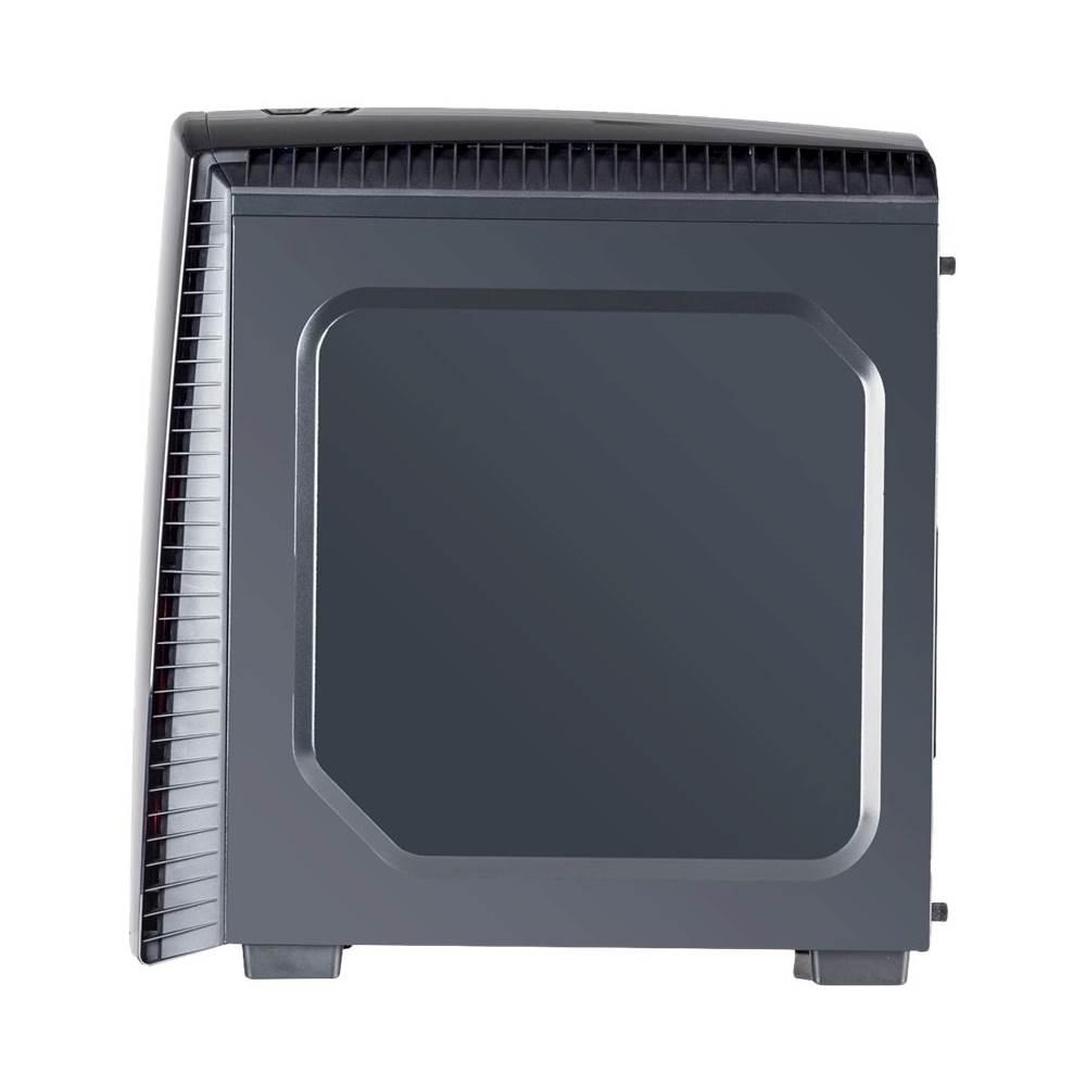 iBUYPOWER BB8210A Desktop AMD Ryzen 3-Series 8GB Memory Radeon RX 550 1TB Hard Drive Black/Red