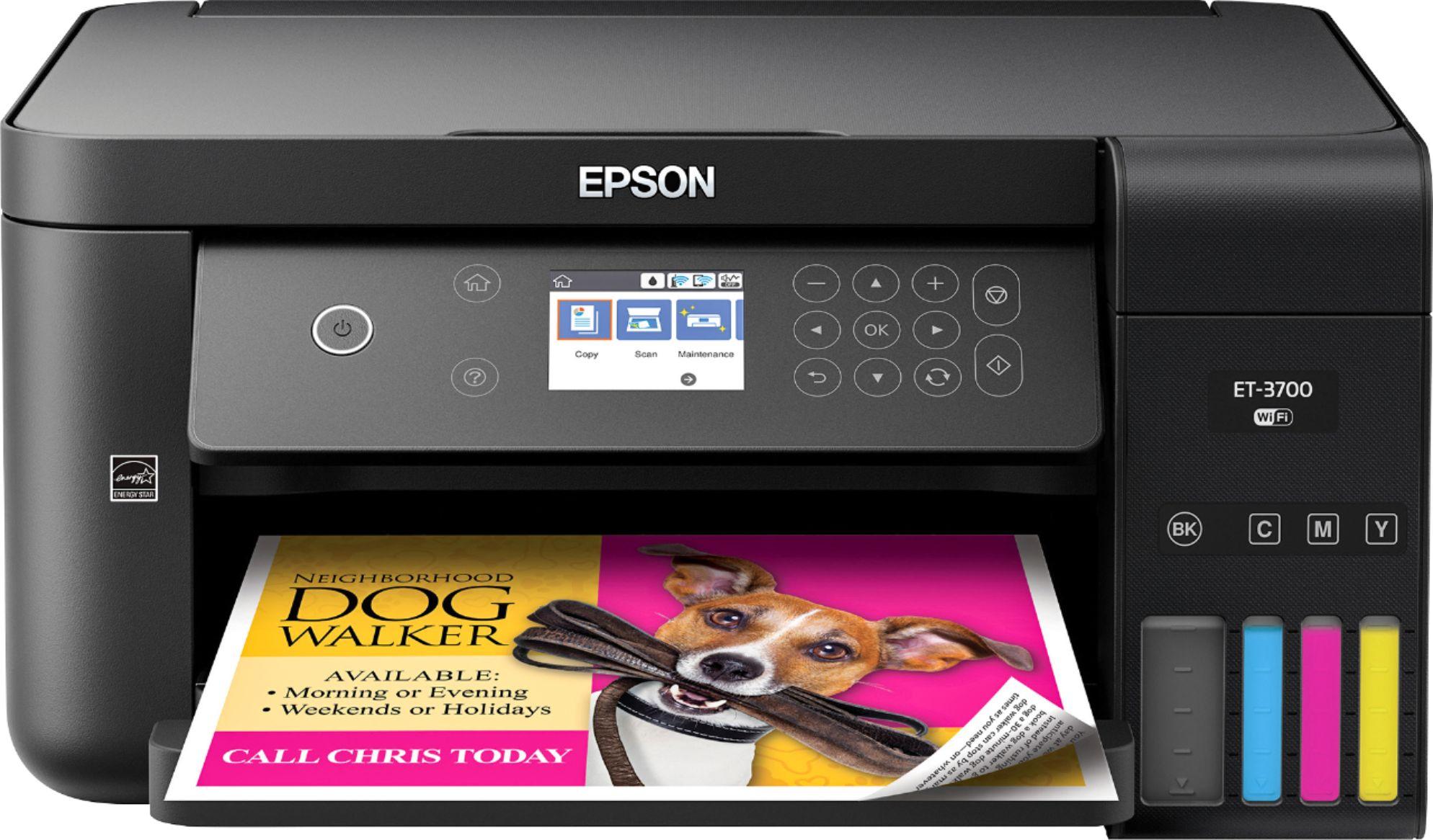 Epson Expression EcoTank ET-3700 Wireless All-in-One Printer ET 3700