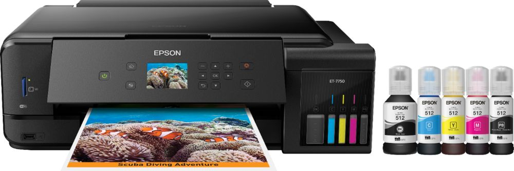 Epson ET 7750 Expression Premium EcoTank ET-7750 Wireless All-in-One Printer