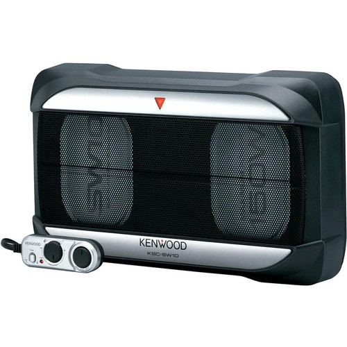 Kenwood - 75 W Car Audio Subwoofer System - black