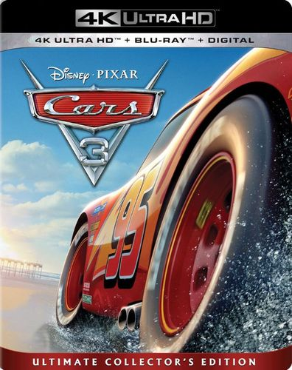 Cars 3 [Includes Digital Copy] [4K Ultra HD Blu-ray/Blu-ray] [2017] 6051010