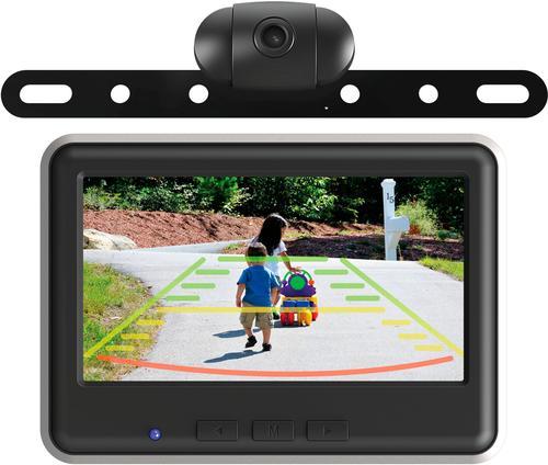 EchoMaster - Wireless Backup Camera and Color Monitor Kit - Black