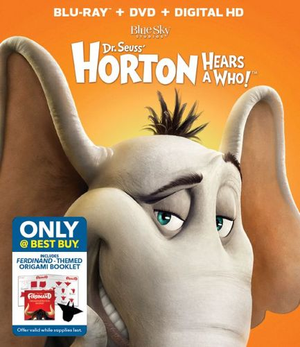 Horton Hears a Who [Includes Digital Copy] [Blu-ray/DVD] [Only @ Best Buy] [2008] 6052712