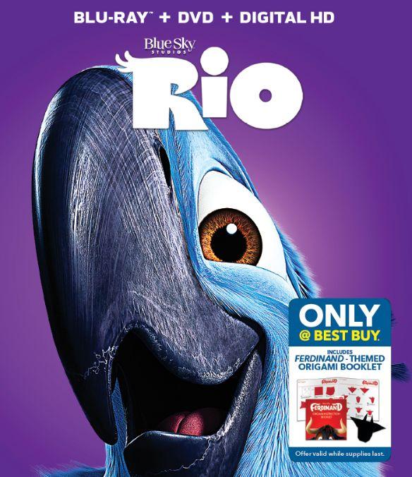Rio [Includes Digital Copy] [Blu-ray/DVD] [Only @ Best Buy] [2011] 6052714