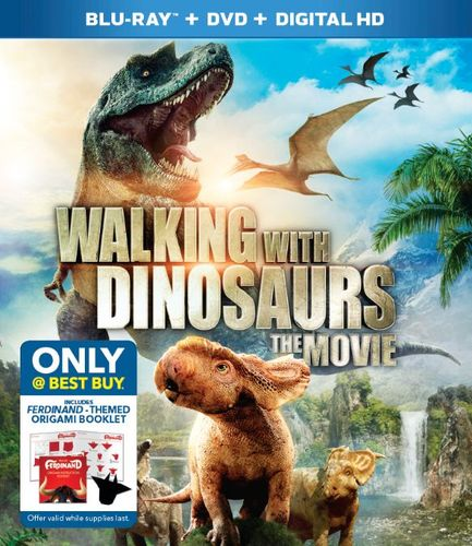 Walking with Dinosaurs: The Movie [Includes Digital Copy] [Blu-ray/DVD] [Only @ Best Buy] [2013] 6052715