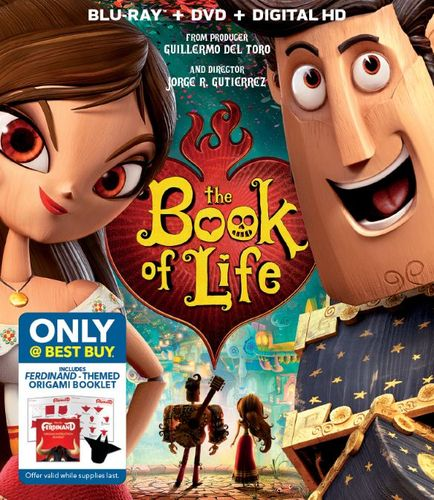The Book of Life [Includes Digital Copy] [Blu-ray/DVD] [Only @ Best Buy] [2014] 6052716