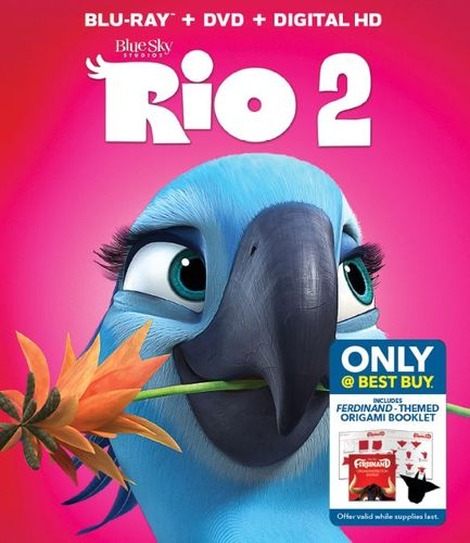 Rio 2 [Includes Digital Copy] [Blu-ray/DVD] [Only @ Best Buy] [2014] 6052719