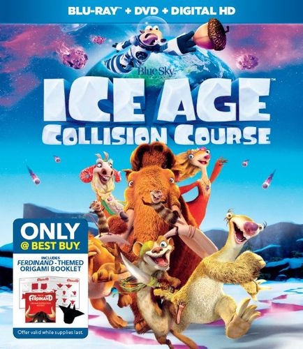 Ice Age: Collision Course [Includes Digital Copy] [Blu-ray/DVD] [Only @ Best Buy] [2016] 6052720