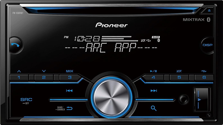 Pioneer - Bluetooth - In-Dash CD Receiver - Black