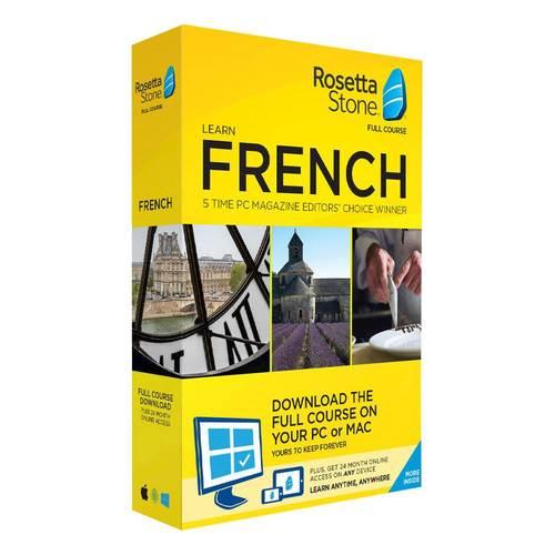 Rosetta Stone - French...