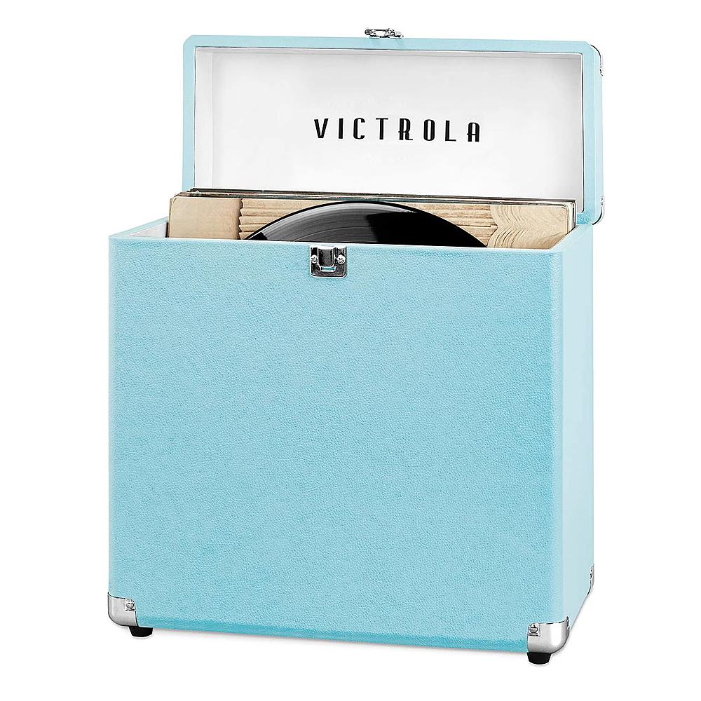 Victrola Storage Case for Vinyl Turntable Records Turquoise VSC-20-TRQ
