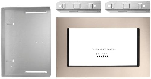 Whirlpool - 30  Trim Kit - Sunset bronze Compatible with select microwaves and wall ovens; sunset bronze finish; built-in appearance