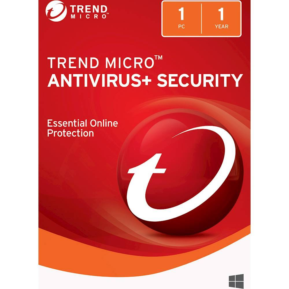 Trend Micro Antivirus+Security (1-Device) (1-Year Subscription) Windows TRE021800G400