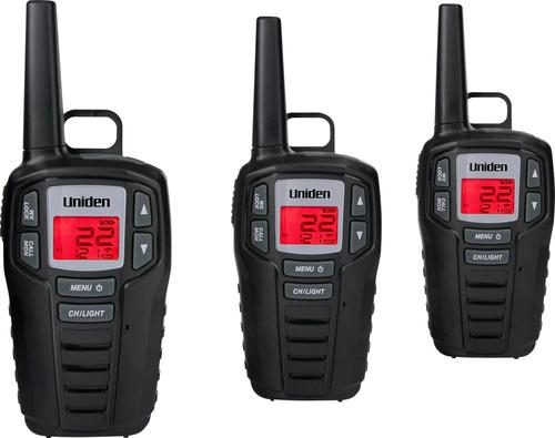 Uniden SX307 Two Way Radios, Black,