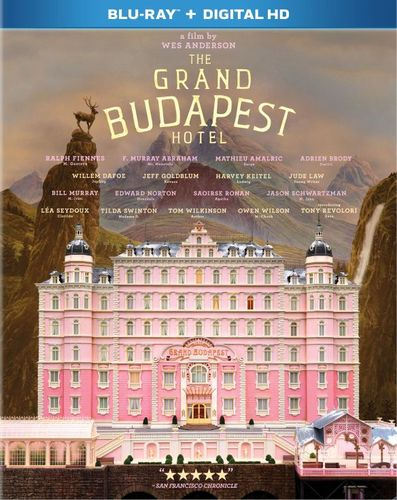 Grand Budapest Hotel [Includes Digital Copy] [UltraViolet] [Blu-ray] [2014] 6080144