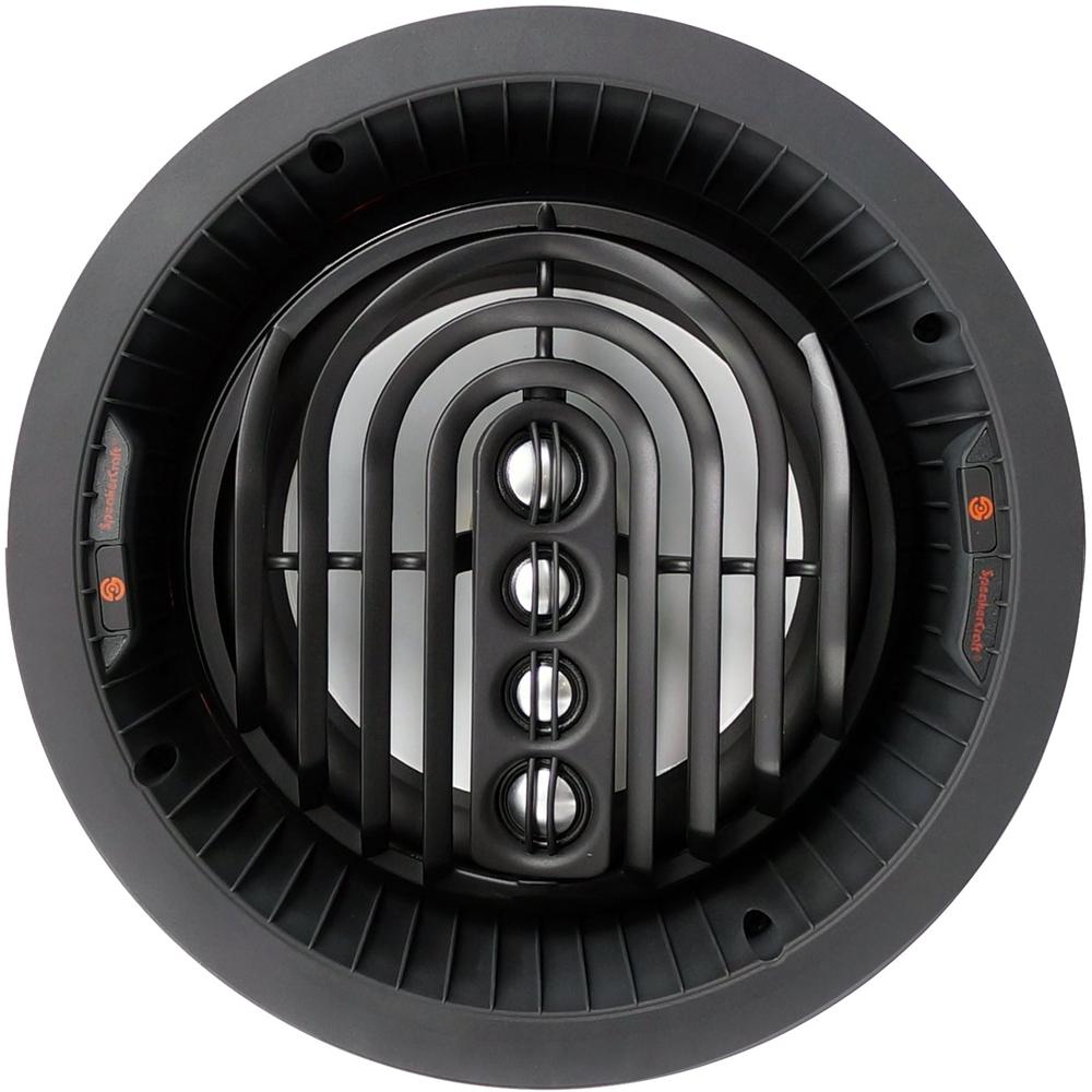 "SpeakerCraft - AIM Series 2 8"" Passive 2-Way In-Wall Speaker (Each) - White/black"
