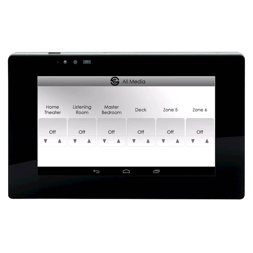 "SpeakerCraft STP7-B 7"" Touch Panel Controller for MRA-664 Multi-Room Audio Control System Black"