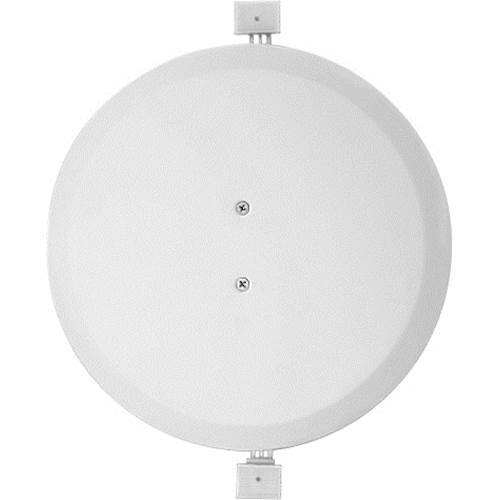 """SpeakerCraft - Cover Plate for Select 8"""" In-Ceiling Speakers - White"""