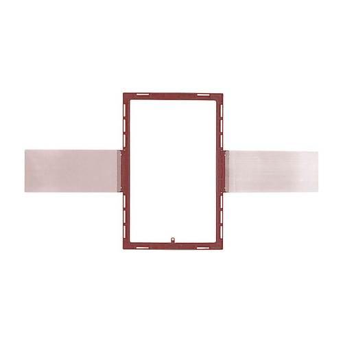 """SpeakerCraft - Wall Mount for SpeakerCraft 7"""" Rectangle AIM7 MT Speaker - Red"""