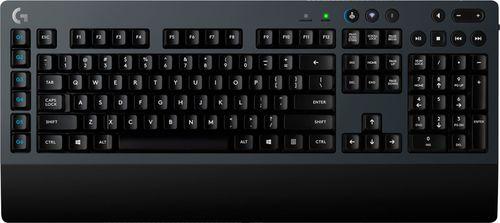 Logitech - G613 Wireless Gaming Mechanical Romer-G Switch Keyboard - Black