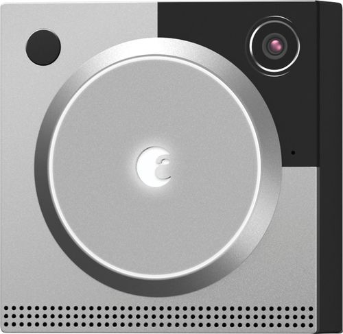 August - Doorbell Cam Pro 2nd Gen Smart Wi-Fi Video Doorbell - Wired - Silver