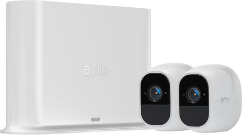 Image of Arlo - Pro 2 2-Camera Indoor/Outdoor Wireless 1080p Security Camera System - White