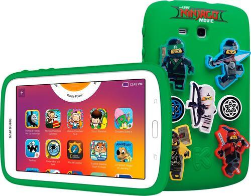 "Samsung - Galaxy Kids Tablet 7"" - The Lego® Ninjago® Movie Edition - White"
