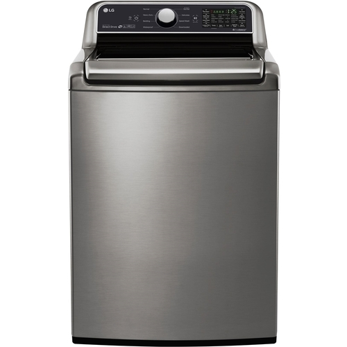 LG Electronics 5.0 cu. ft. Smart Top Load Washer with WiFi Enabled in Graphite Steel, ENERGY STAR