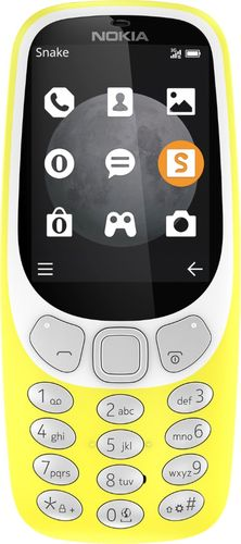 Nokia - 3310 Cell Phone (Unlocked) - Yellow
