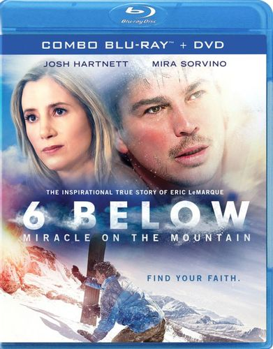 6 Below: Miracle on the Mountain [Blu-ray] [2017] 6092800
