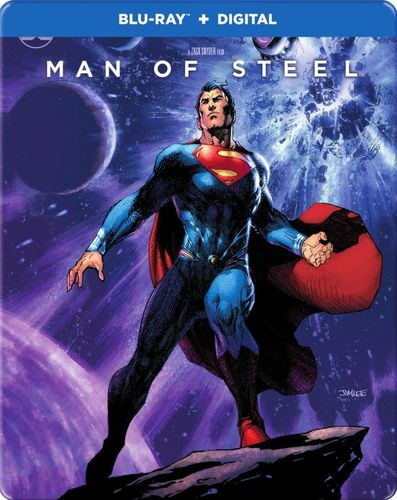 Man of Steel [SteelBook] [Blu-ray] [2013] 6097301